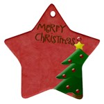 Christams Star - Star Ornament (Two Sides)
