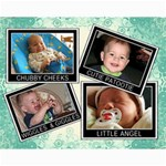 Cutesy 14x11 Collage Poster - Collage 11  x 14