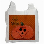 too cute to spook halloween candy bag - Recycle Bag (One Side)