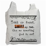 Trick or treat - Custom Recycle Bag  - Recycle Bag (One Side)