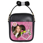 Pretty Pink Girls Sling Bag