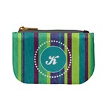 Stripes Monogram Mini Coin Purse