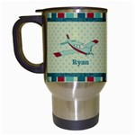 Airplane Travel Mug - Travel Mug (White)
