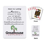 Greathouse Business Cards - Playing Cards Single Design (Rectangle)