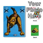The cat in the sack game - Playing Cards 54 Designs (Rectangle)