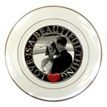 Love is a Beautiful Thing Plate - Porcelain Plate