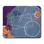 Snowflake mousepad - Large Mousepad