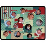 Airplane XL Fleece Blanket - Fleece Blanket (Large)
