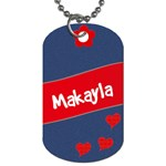 Makayla - Dog Tag (Two Sides)