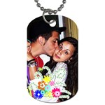 helen an d sergio - Dog Tag (One Side)
