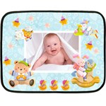 Blankie Bunny Baby Boy Mini Fleece - Fleece Blanket (Mini)