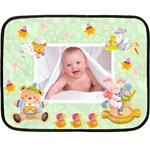 Blankie Bunny Pistacio Baby Mini Fleece - Fleece Blanket (Mini)