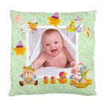 Blankie Bunny Pistachio  Baby Double sided cushion - Standard Cushion Case (Two Sides)