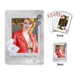 wedding card - Playing Cards Single Design