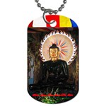 Jade Buddha - Final Format - Dog Tag (Two Sides)