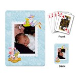 Special Delivery Baby Cards Boy - Playing Cards Single Design