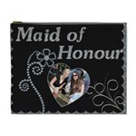 Maid of Honour XL Cosmetic Bag (Canadian Spelling) - Cosmetic Bag (XL)