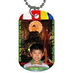 Jade Buddha - Peter - Dog Tag (Two Sides)