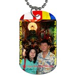 Jade Buddha - HuongGia - Dog Tag (Two Sides)