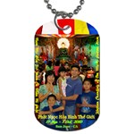 Jade Buddha - TonyHan - Dog Tag (Two Sides)