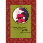 Family & Friends 5x7 Christmas Card - Greeting Card 5  x 7