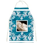 pool blue  Full Print Apron