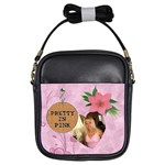 Pretty in Pink Girls Sling Bag