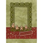 Holiday Card, Gingerbread Family - Greeting Card 5  x 7