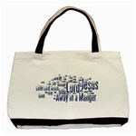 Away In  a Manger Tote bag - Basic Tote Bag (Two Sides)