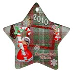 angels Remember when 2010 ornament 25 - Ornament (Star)