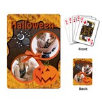 halloween - Playing Cards Single Design