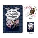 Dad Playing Cards - Playing Cards Single Design