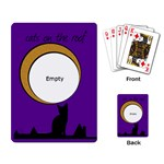 Cats on the roof -  CARDS - Playing Cards Single Design (Rectangle)
