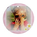 flower, baby - Ornament (Round)