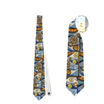 Titanic tie 2 - Necktie (Two Side)