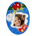 xmas kids - Ornament (Oval)