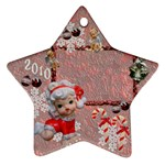 angels 2010 ornament 51 - Ornament (Star)