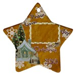 village peace love joy 2010 ornament 76 - Ornament (Star)