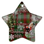 lantern peace love joy 2010 ornament 79 - Ornament (Star)