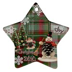 snowman 2010 ornament 95 - Ornament (Star)