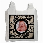 Fantasia Classic baby s first christmas recycle bag - Recycle Bag (One Side)