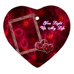 You light up my life3 Ornament - Ornament (Heart)