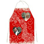 Fantasia Twin Hearts Valentines Umbrella - Full Print Apron