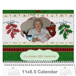 Xmas calendar 2009-for danny-finished - Wall Calendar 11  x 8.5  (12-Months)