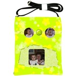 Lime Juice Sling Purse - Shoulder Sling Bag