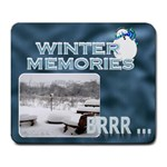 Winter Memories Large Mousepad