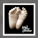 Baby s first christmas monochrome photocube - Magic Photo Cube