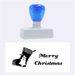 Merry christmas - Rubber Stamp (Large)