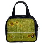 Family & sunflowers handbag - Classic Handbag (Two Sides)