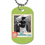 Dog tag 8 - Dog Tag (One Side)